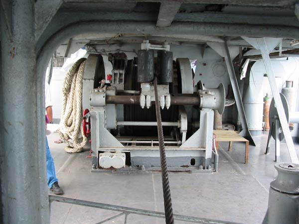Stern Anchor Winches